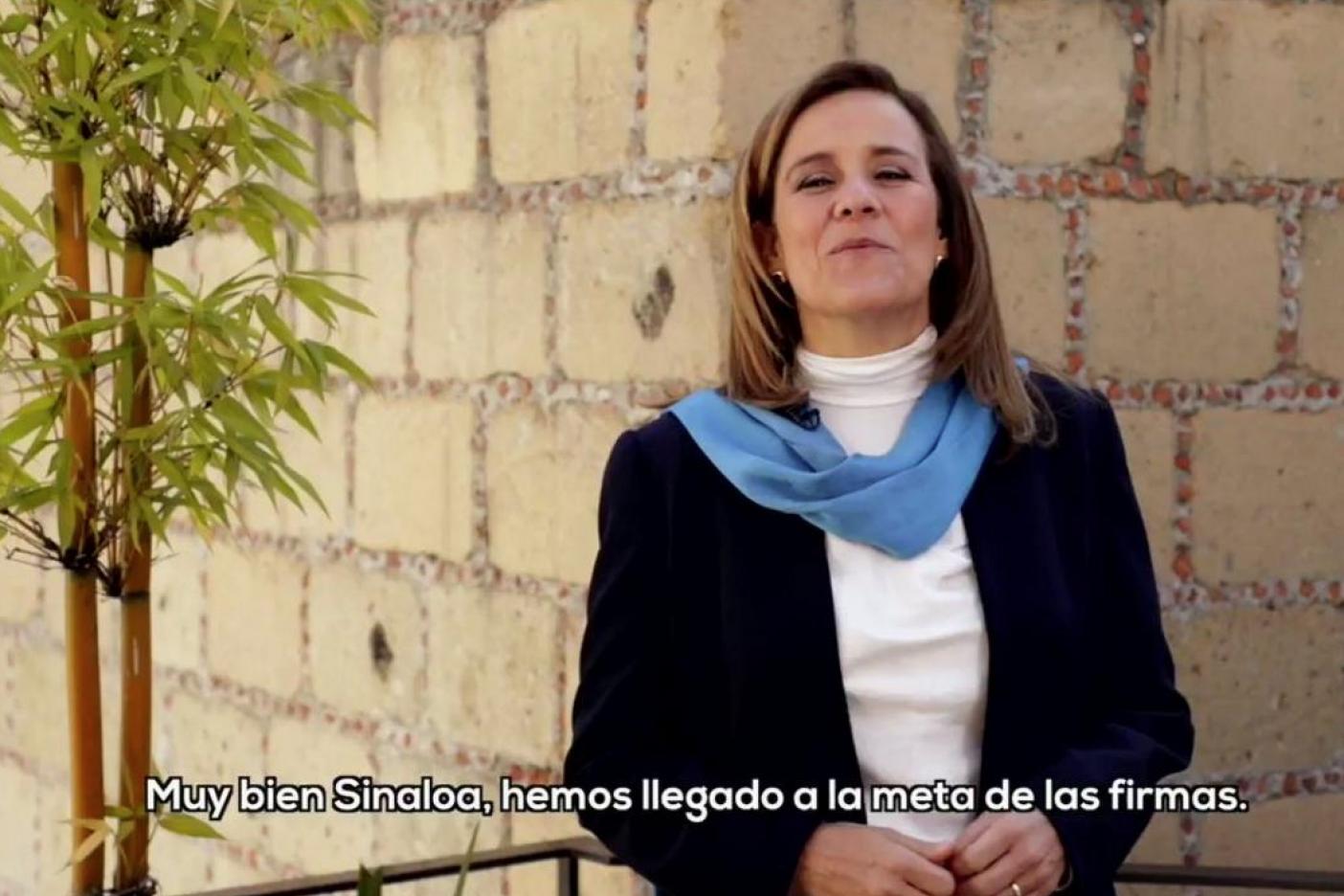 Pide Margarita Zavala a INE no temer a partidos