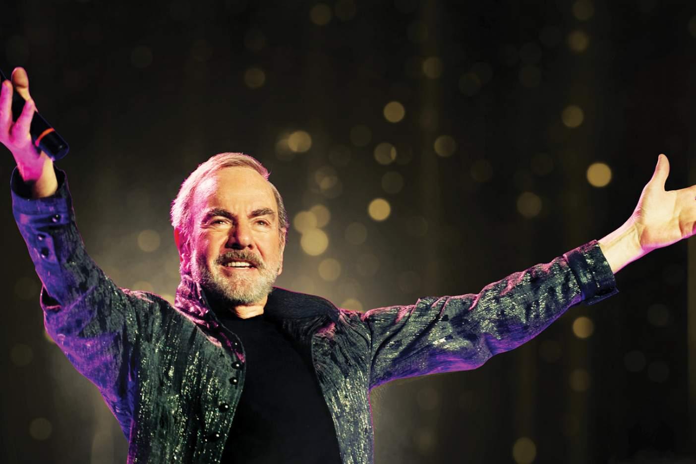 Neil Diamond tiene parkinson y deja los escenarios