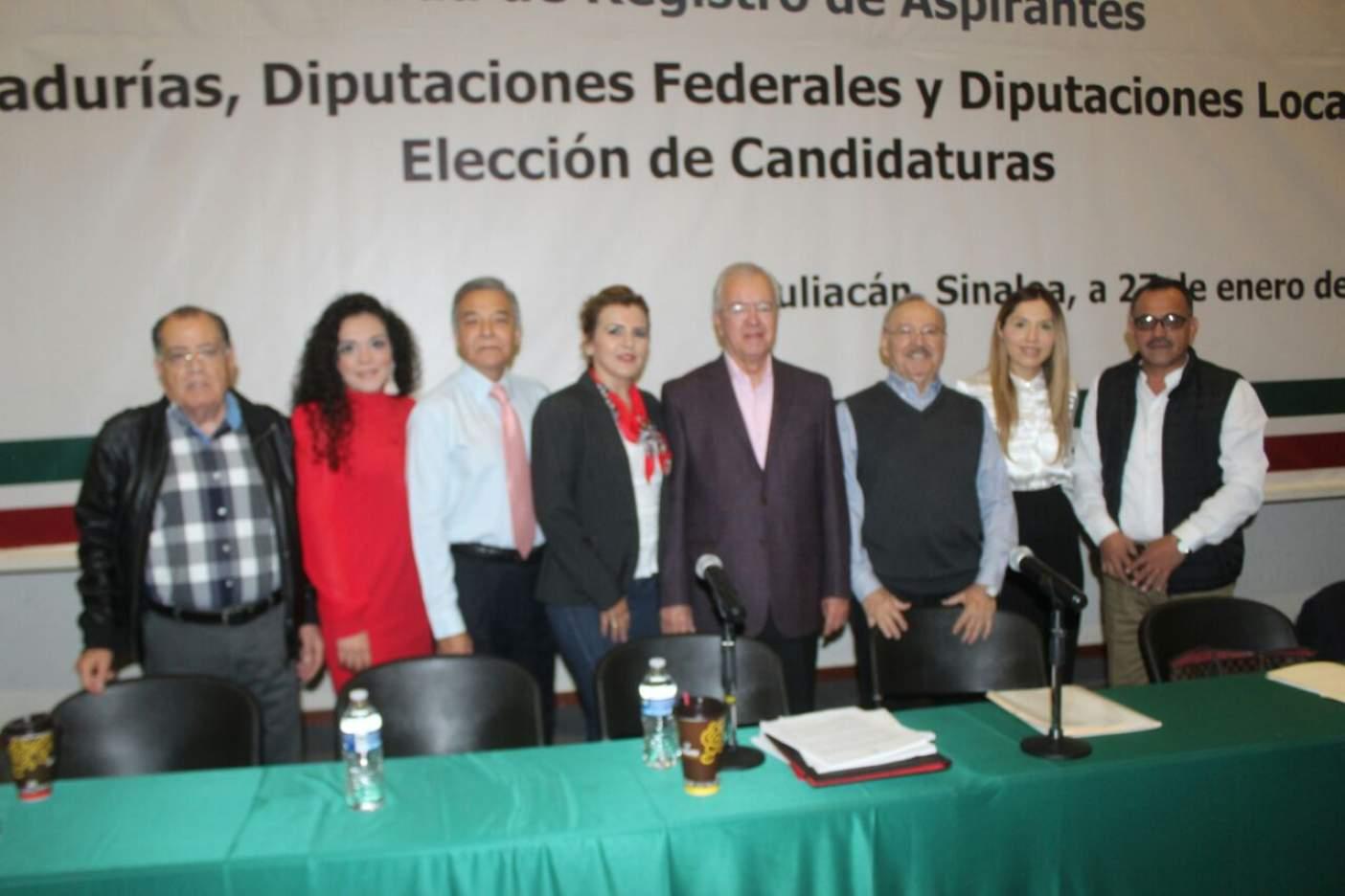 Inicia PRI proceso de registro de aspirantes a diputados y senadores