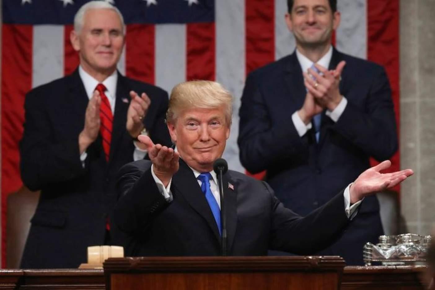 ¿Qué dijo Trump sobre México en su discurso?