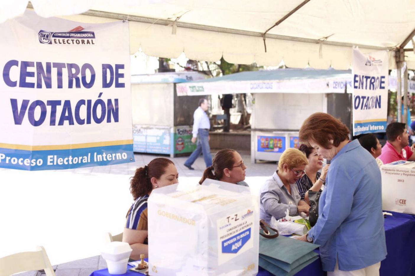 PAN en Querétaro abre centros de votación para refrendar apoyo a Anaya