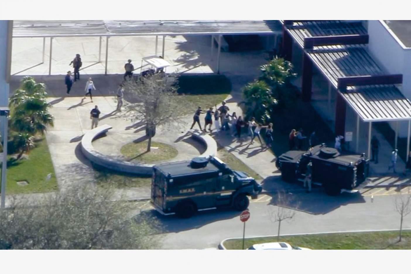 Tiroteo en Florida: Fuertes imágenes del interior de la escuela
