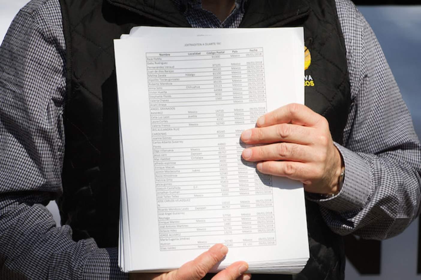 PGR ha realizado 8 solicitudes de extradición contra César Duarte