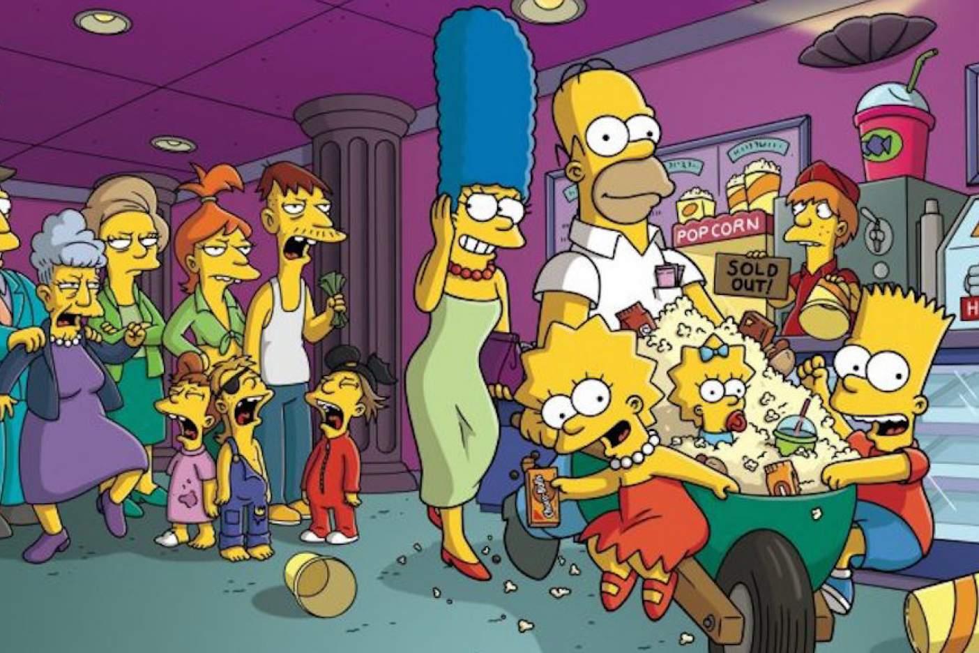 Una palabra inventada por Los Simpson llega al diccionario