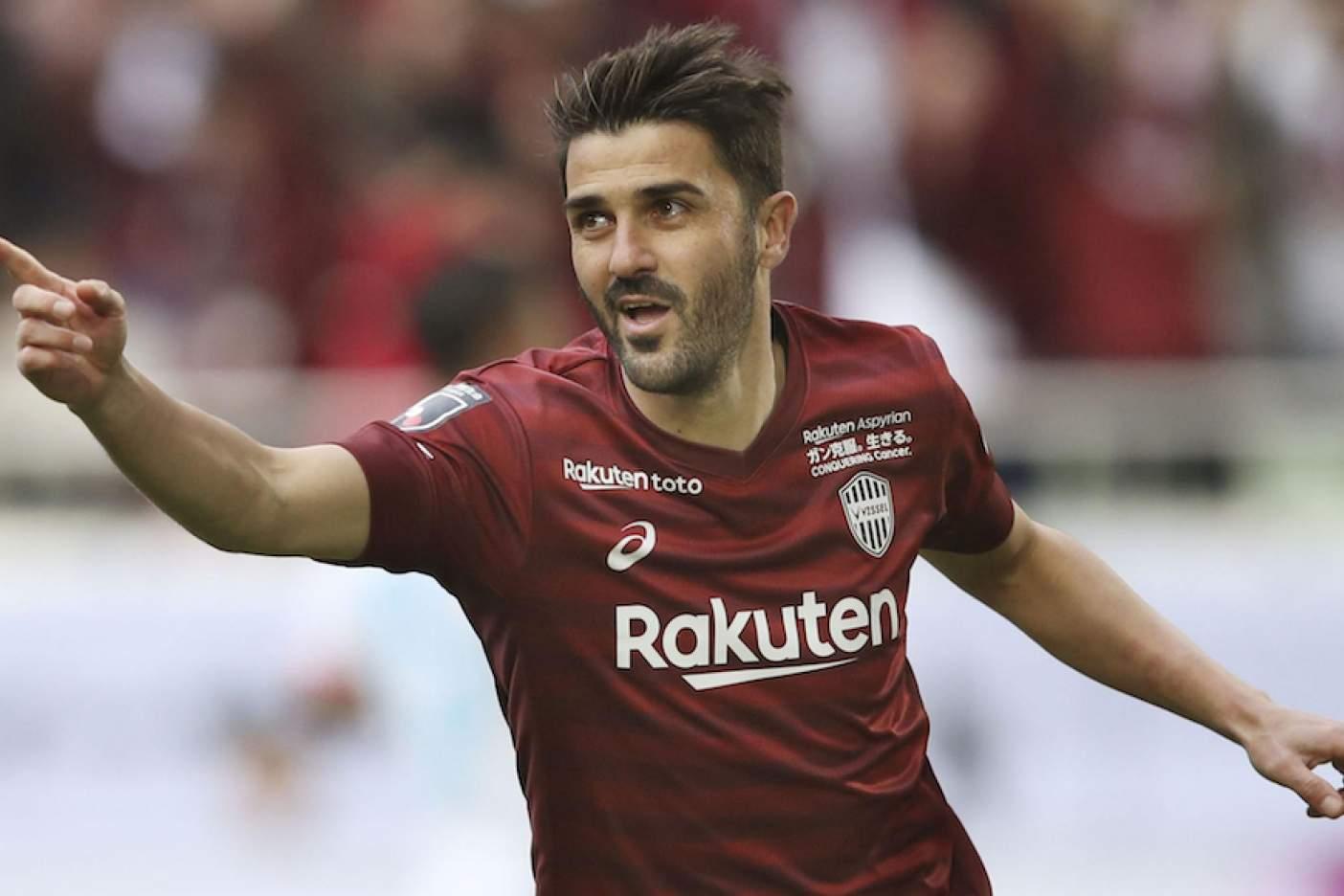 El delantero David Villa se retirará del futbol profesional en el club japonés Vissel Kobe - Noroeste