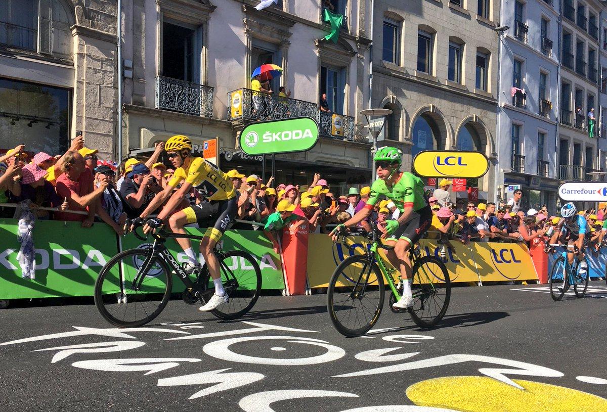 Matthews gana y Froome recupera el liderato del Tour